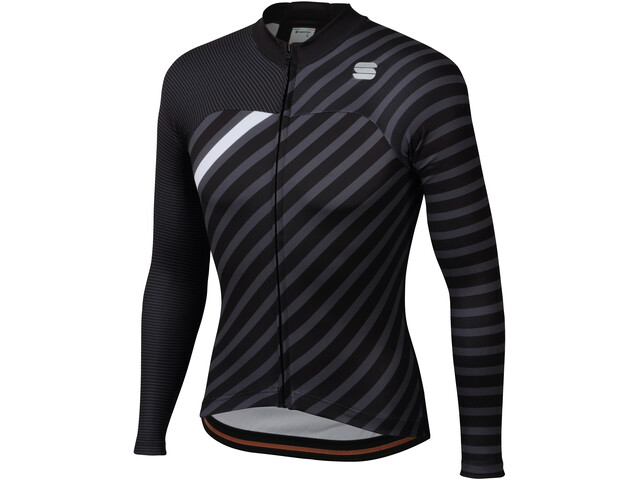Sportful Bodyfit Team LS Winter Jersey Men black/anthracite/white